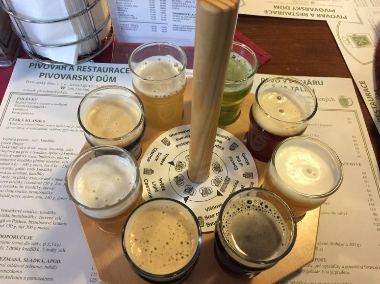 wheel of beer